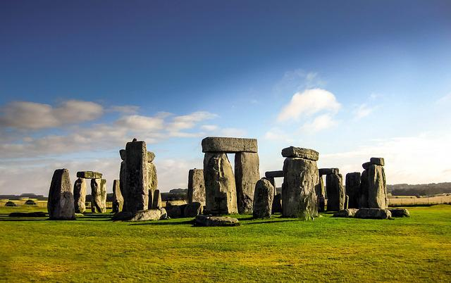 Monument, England, Nature, Stone, Circle, Stonehenge