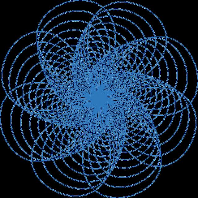 Spirograph, Pattern, Design, Geometric, Circle
