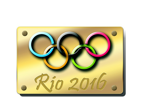 Rio, Placca, Circles, 2016, Olympic Games