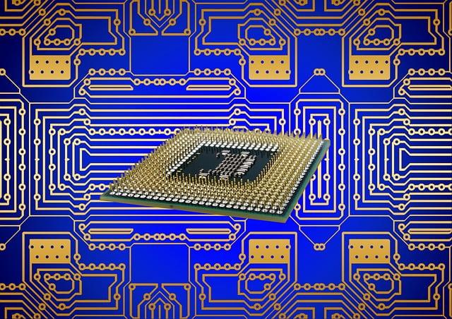 Processor, Cpu, Board, Circuits, Calculator, Computer
