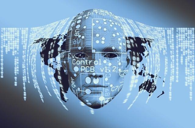 Technology, Board, Face, Think, Human, Circuits