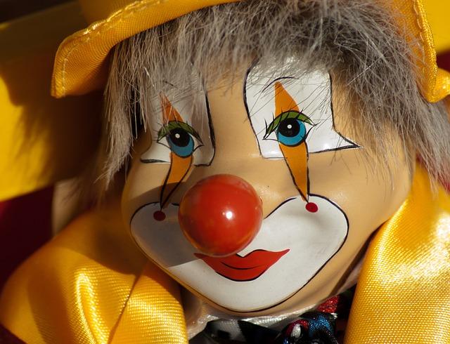 Clown, Circus, Disguise, Show, Artist
