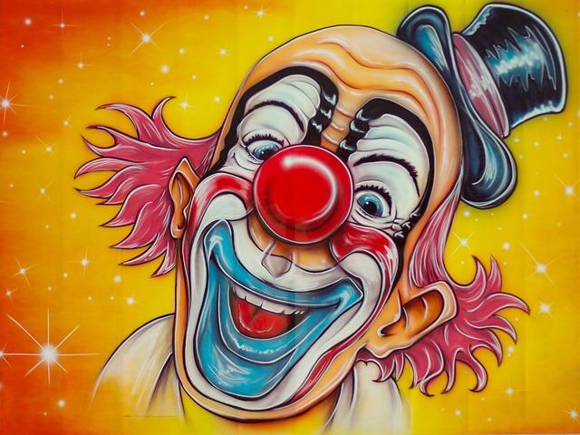 Circus, Clown, Disguise, Fun Fair