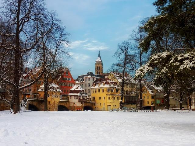 Esslingen, Germany, City, Cities, Church, Buildings