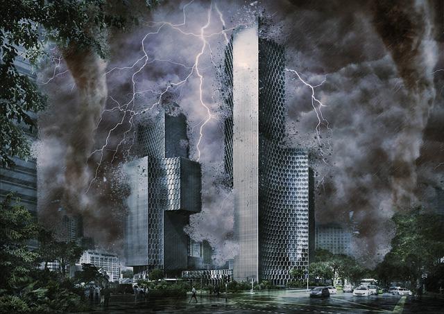 Digital Art, City, Cities, Urban, Skyscrapers, Building