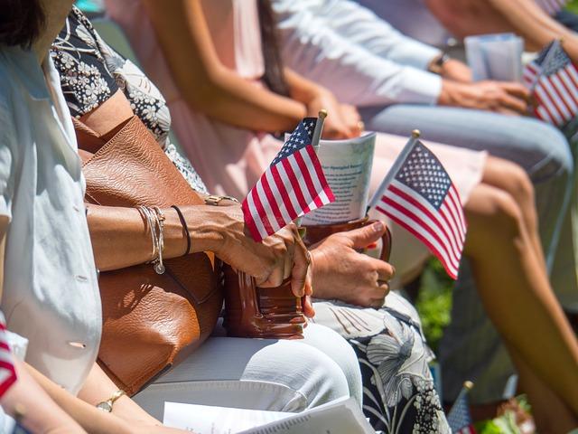 Flag, Usa, Citizen, America, Symbol, Red, White, Nation