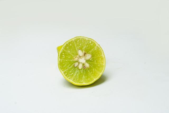 Lemon, Citric, Vitamin C