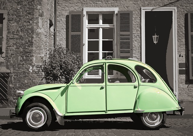 Car, Citroen, France, Vintage, Vehicle, Auto