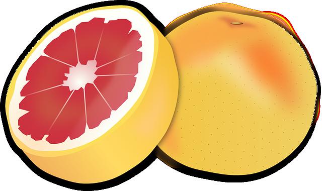 Grapefruit, Citrus Fruit, Citrus, Fruit, Food, Pink
