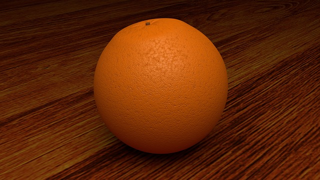 Orange, Fruit, Citrus Fruit, Photorealistic