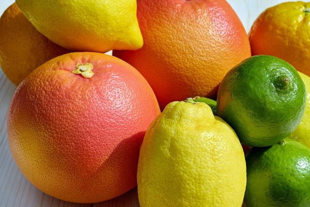 Fruit, Food, Tropical Fruits, Citrus Fruits, Fruits