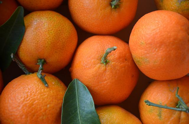 Mandarins, Citrus Fruits, Orange