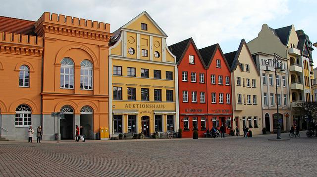 Architecture, City, Facade, Marketplace, Action House