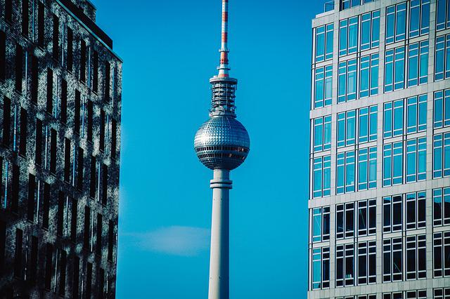 Berlin, Tv Tower, Architecture, City