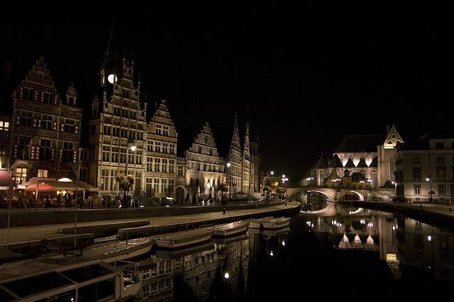 Belgium, Ghent, Europe, Architecture, Travel, City