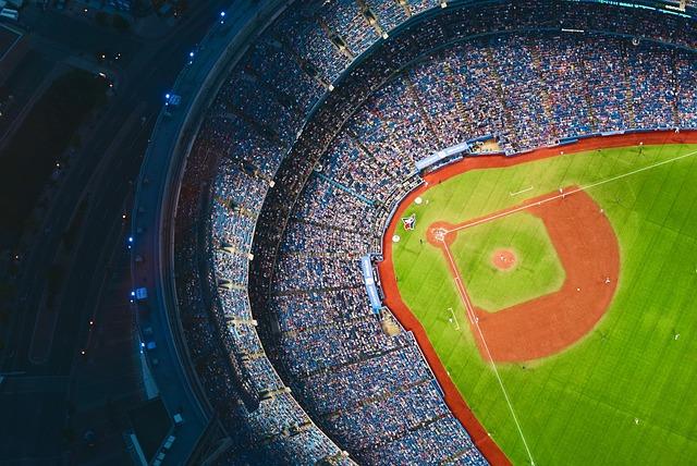 Architecture, Art, Audience, Ballpark, Baseball, City