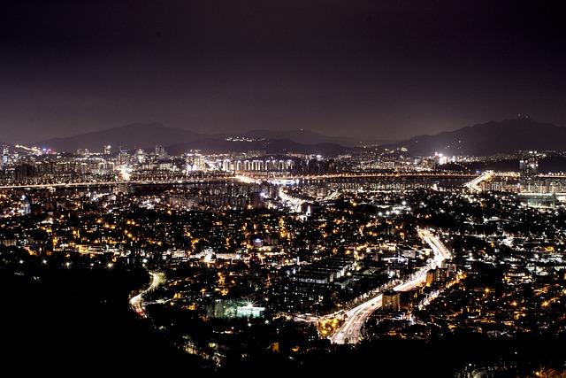 Night, City, City At Night, Cityscape, Travel, Landmark