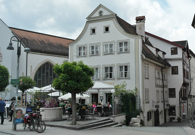 Eichstätt, Bavaria, City, Homes, Stadtmitte