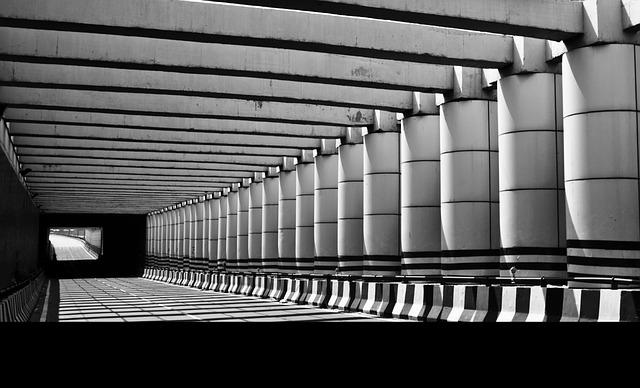 Subway, India, Black And White, City, Travel, Urban