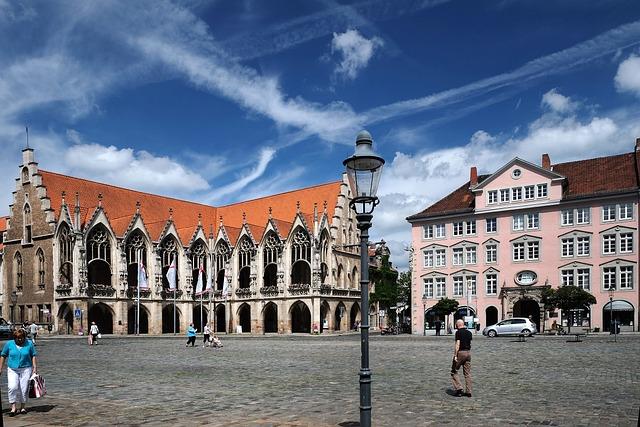 Braunschweig, City, Old Town Market, Altstadt Rathaus