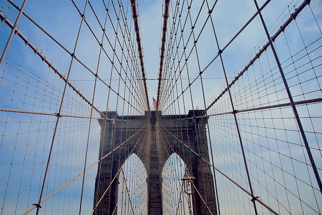 Brooklyn Bridge, Nyc, Bridge, City, Brooklyn, Manhattan