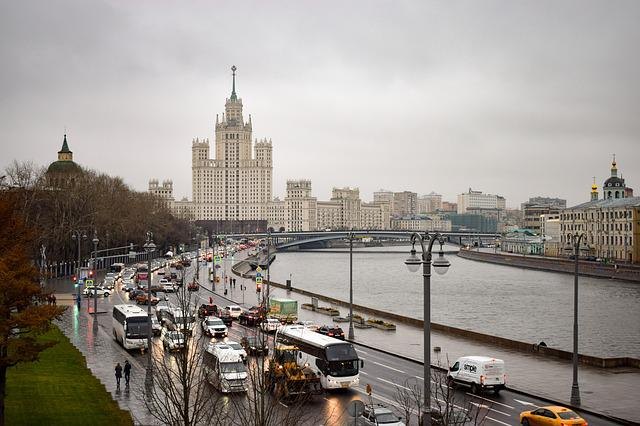 Moscow, Capital, Russia, City, Building