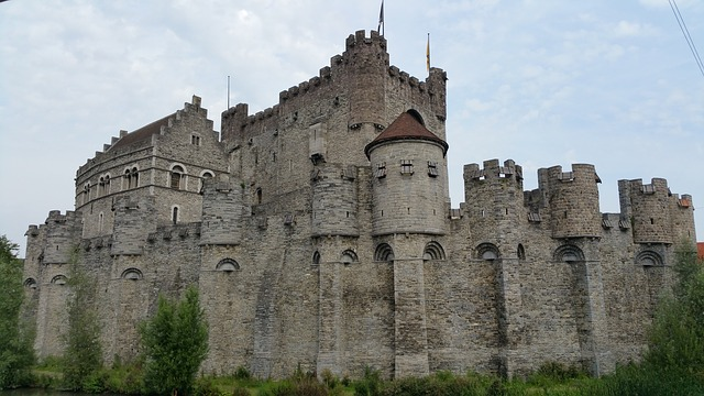 Ghent, Gravensteen, City Centre, Gent, Castle, Belgium