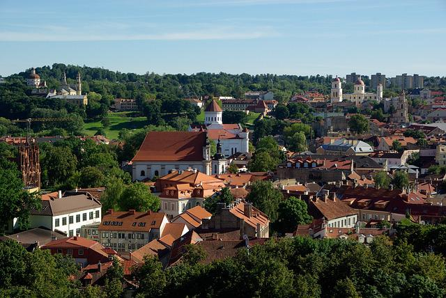 Lithuania, Vilnius, Churches, Cathedral, City, Old