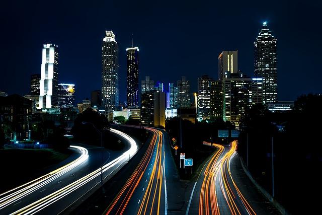 Atlanta, Georgia, City, Cities, Cityscape, Usa