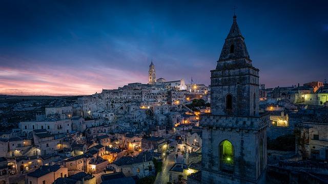 Matera, Cityscape, Italy, City, Sassi, Basilicata