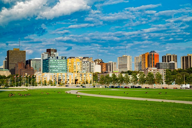 Ottawa, Canada, City, Urban, Skyline, Cityscape