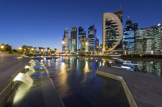 Cityscape, Doha, Qatar, City, Buildings, Architecture