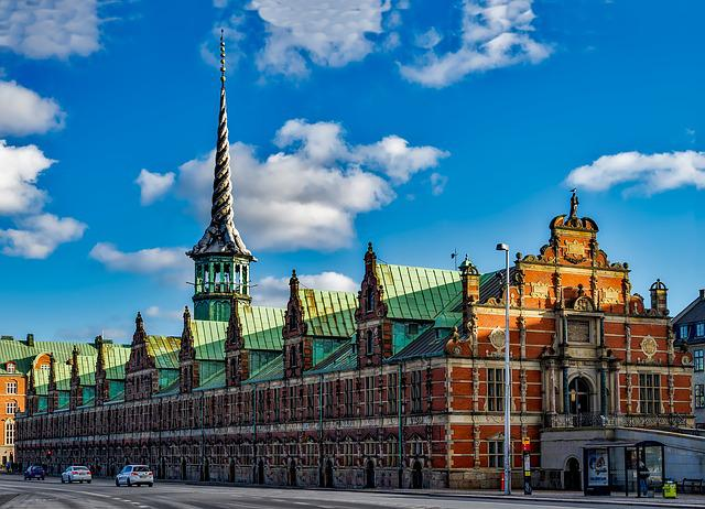 Copenhagen, Denmark, City, Urban, Sky, Clouds