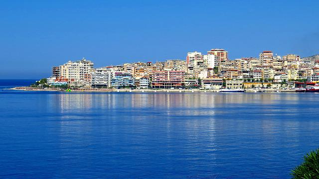 Beach, Of The Sea, Buildings, The Coast, City, Colors