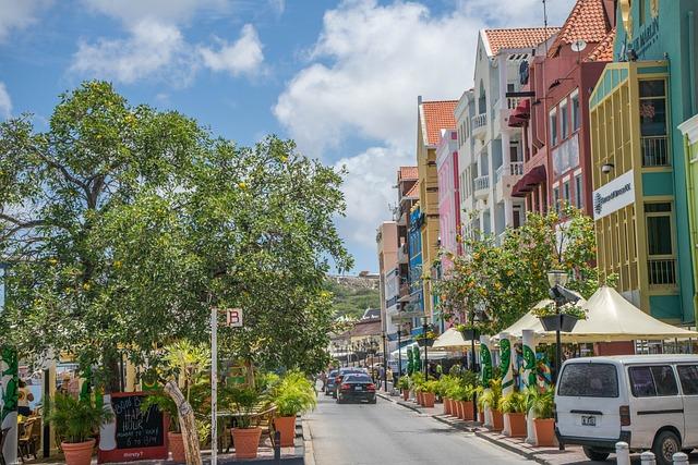 Curacao, Willemstad, Antilles, Caribbean, Dutch, City