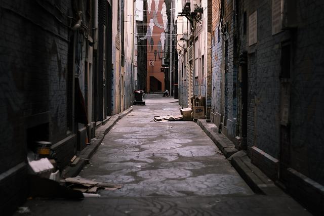 Ally, Street, Urban, City, Street Art, Rubbish, Dark