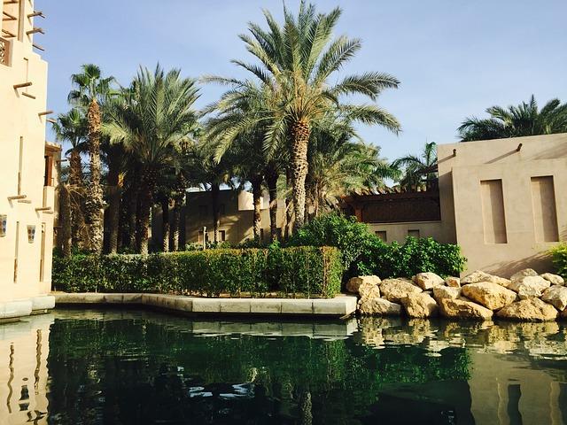 Dubai, Water, City, Arab, Travel