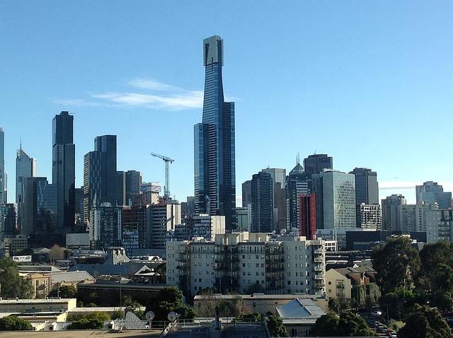 Melbourne, Eureka, Daytime, City, Urban, Australia