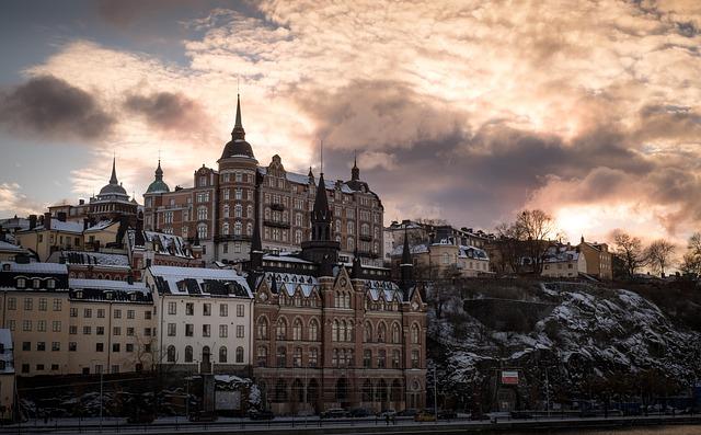 Stockholm, Södermalm, City, Facade