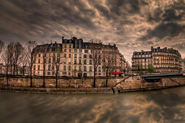 Paris, Perspective, Sky, France, Tourism, City
