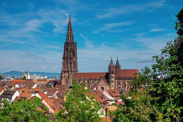 Freiburg, City, Münster, Freiburger Minster, Downtown
