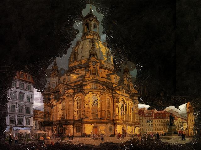 Dresden, Frauenkirche, Church, Saxony, City, Germany