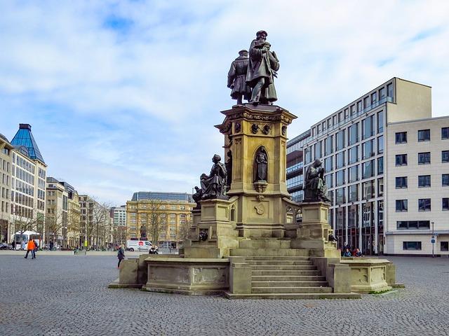 Frankfurt Mainz, Goetheplatz, Architecture, City