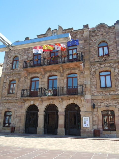City Hall, People, Palencia, Spain
