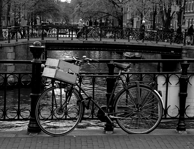 Amsterdam, Canal, Wheel, Channel, Holland, Water, City