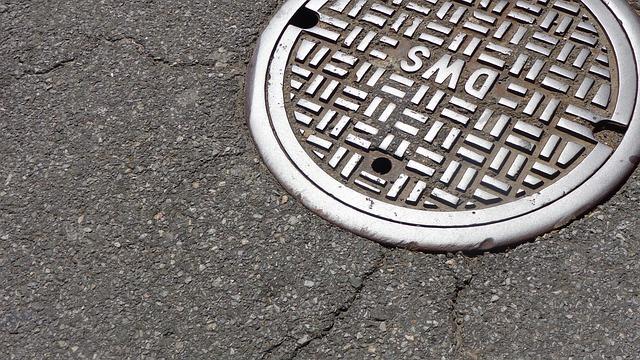 Manhole, City, Street, Sewer, Sewage, Infrastructure