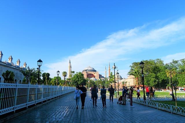 Hagia Sophia, Istanbul, Cami, Religion, Minaret, City