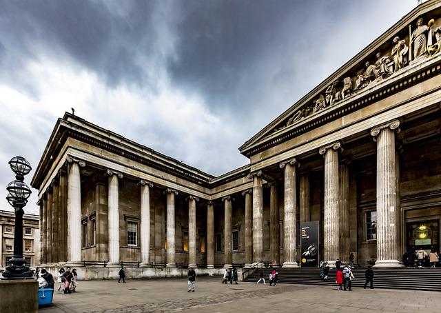 British Museum, Museum, London, Uk, England, City