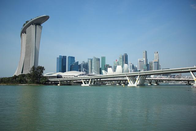 Singapore, Marina Bay, City, Business