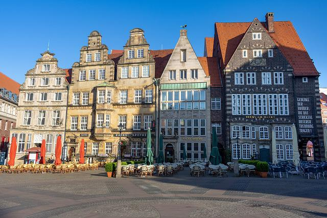 Bremen, Marketplace, Old Town, Architecture, City